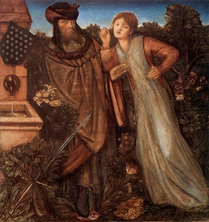 09 Re Marco e Isotta, Burne-Jones, XIX secolo